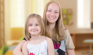 Мария Питерская и дочь Ариша