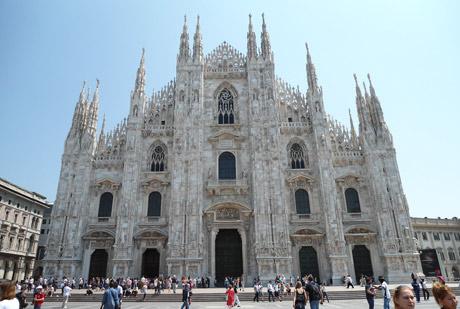 Doumo, Миланский собор.
