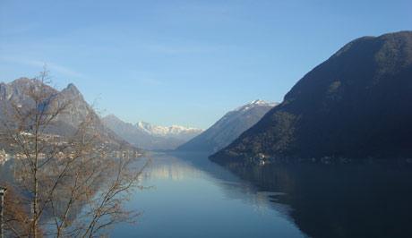Озеро Lago di Lugano