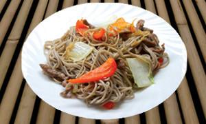 Гречневая лапша рецепт с мясом и овощами