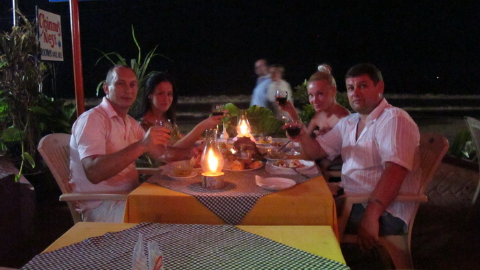 Сергей и Галина Альхимович, Алина Сандлер с супругом Дмитрием.